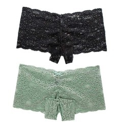 2 pc feminino transparente renda lingerie sexy plus size roupa interior aberta virilha bowknot cueca erótica g quente calcinha de corda 2020jan23