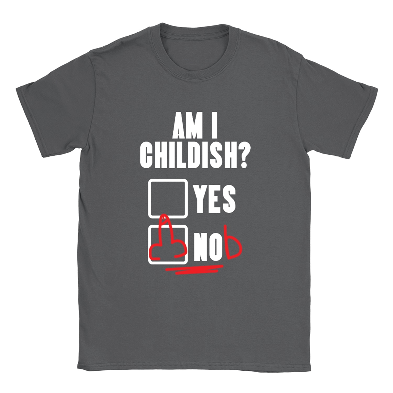 Soy infantil camiseta divertido grosero ofensiva broma papá presente nuevo Unisex Tops Tee camiseta