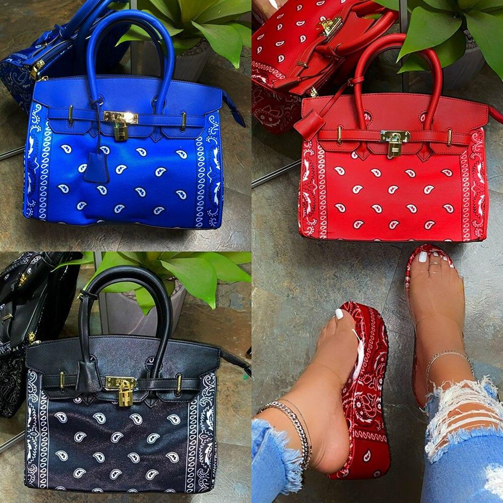 Luxury Brand New Women's Elegant Fashion Printed Metal Decoration Handbags Women 2021 Trendy Large Capacity Party Ladies Bags