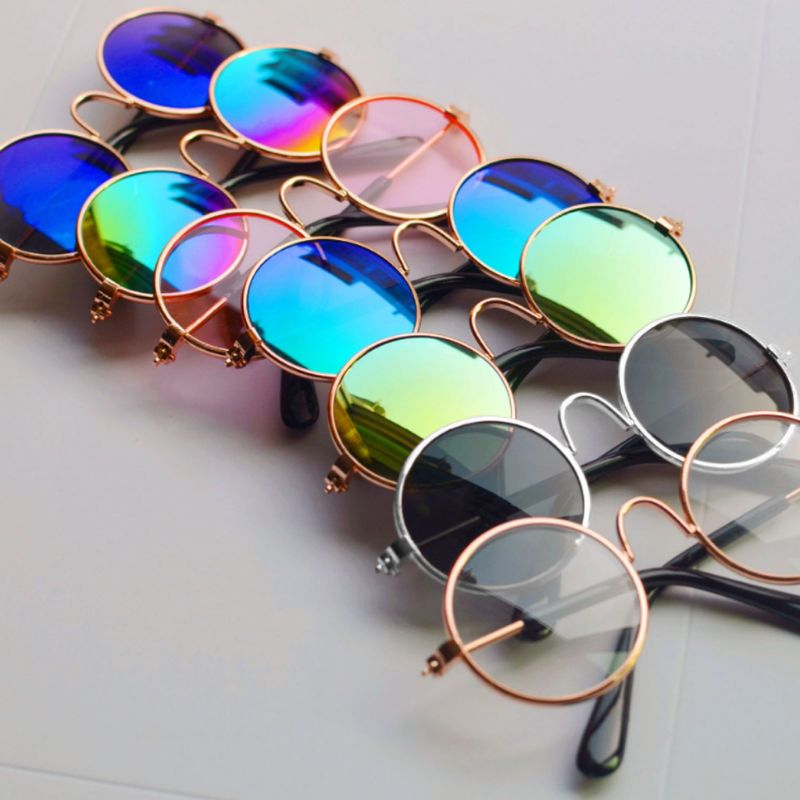 Кукольные крутые очки солнцезащитные очки для домашних животных для шарнирных кукол Blyth American GirIs Игрушка реквизит для фото