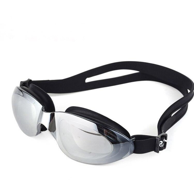 Gafas de natación Swiss And ruihe Anti-Niebla, protección UV electrochapada Luo, gran calidad, montura grande
