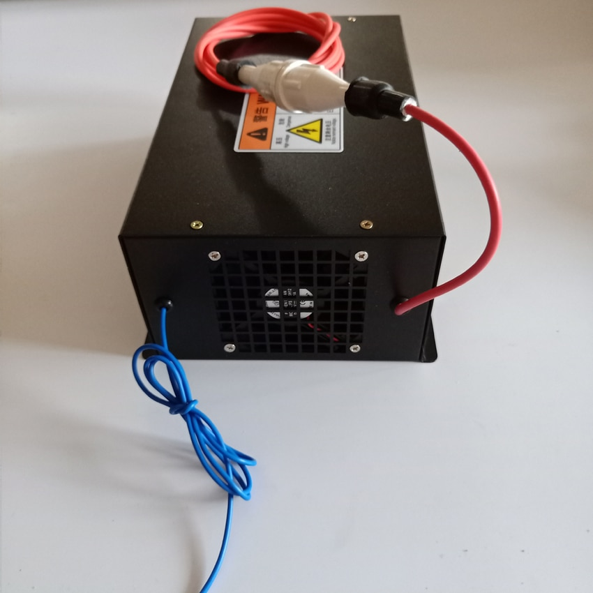 مورد طاقة ليزر 100 وات لماكينة قطع ونقش بالليزر CO2 MYJG بقدرة 40 وات 50 وات 60 وات 80 وات 100 وات