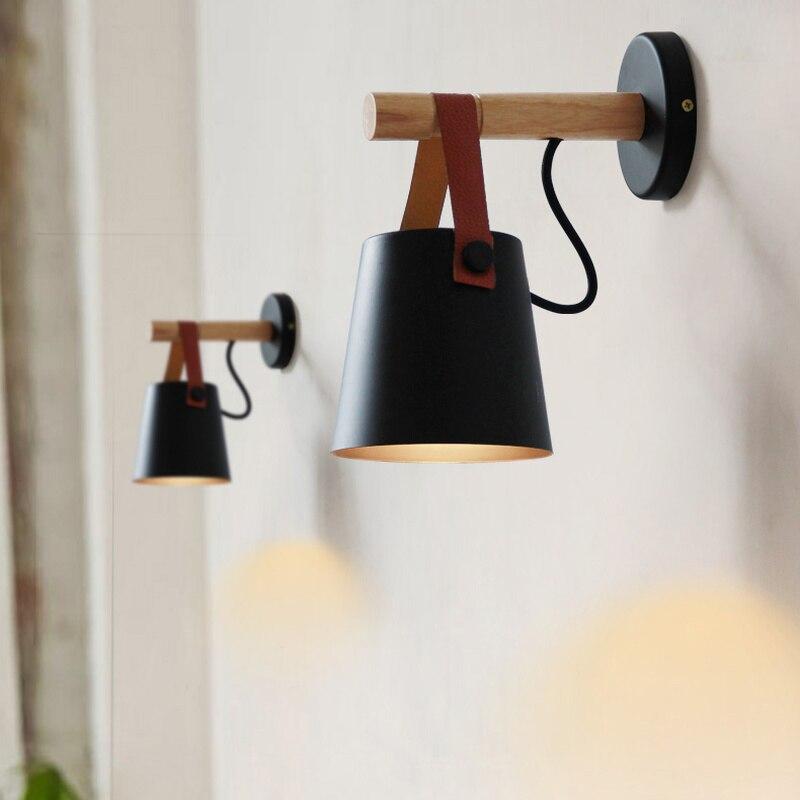 Lámparas de pared LED Abajur para apliques de luz de pared de...