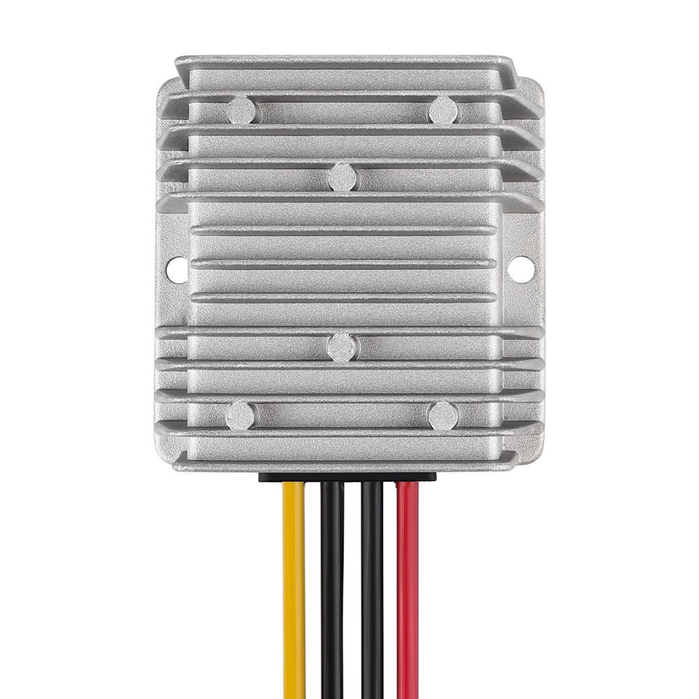Transformador transformador de voltaje reductor de voltaje fuente de alimentación conmutada para coche LED Solar 72V a 12V 10A 120W DC