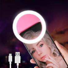 Lampa pierścieniowa Led Selfie nowość makijaż oświetlenie lampa Led do Selfie telefony komórkowe zdjęcie lampka nocna Led lustro Neon Selfie Ring