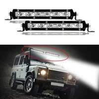 1pc off road 7inch led work light bar spot light bulbs 18w 4x4 driving fog lamp for jeep wrangler vehicles atv boat truck suv