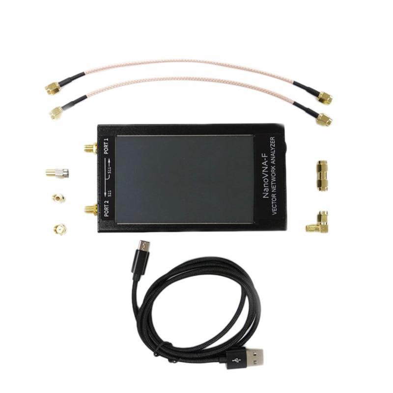 4.3 Inch LCD VNA HF VHF UHF Vector Network Analyzer Shortwave MF HF VHF 50Khz-1000Mhz Antenna Analyzer