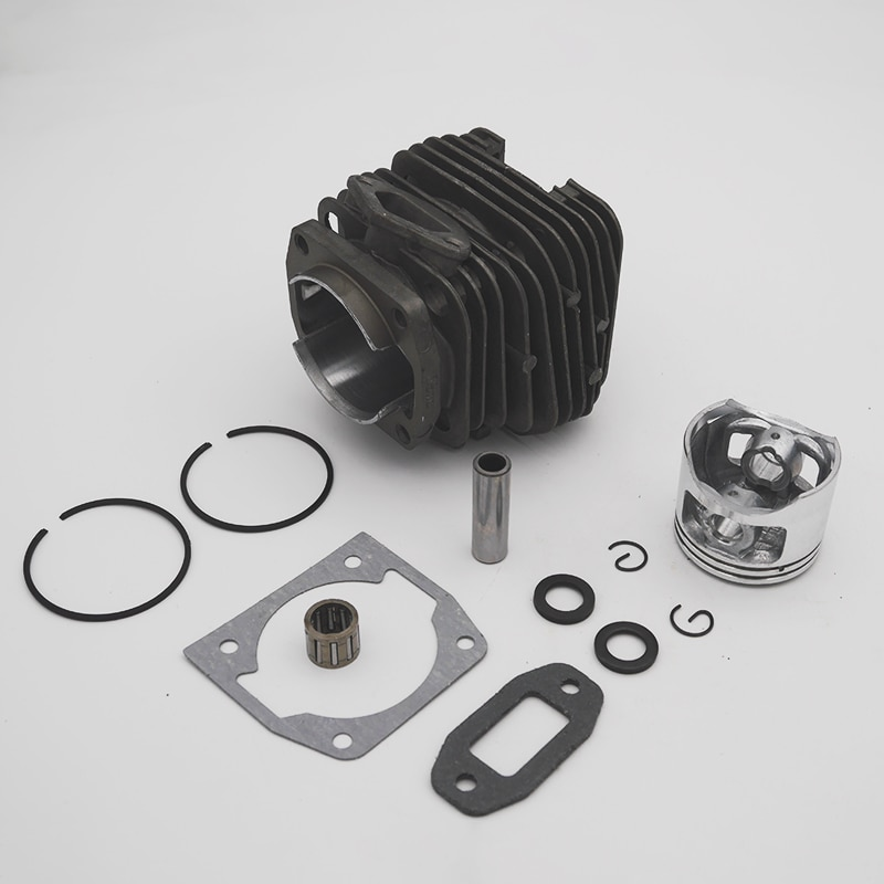 43mm 45mm 45.2mm Chainsaw Cylinder Piston Kit For 4500 5200  5800 45cc 52cc 58cc Chinese Gasoline Chainsaw Spare Parts