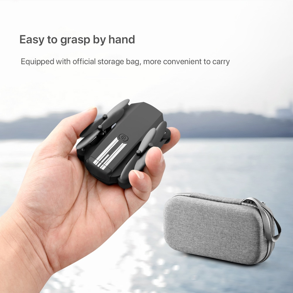 2020 New Mini Drone 4K 1080P HD Camera WiFi Fpv Air Pressure Altitude Hold Black And Gray Foldable Quadcopter RC Drone  - buy with discount