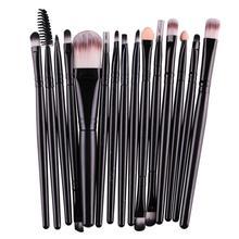 Pro 10/15Pcs Makeup Brushes Set Powder Foundation Eye Shadow Eyelash Eyeliner Lip Make Up Brush Tool Pencil Maquiagem Hot Sale