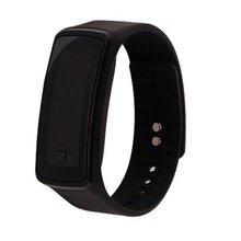 Mode Siliconen Gel Kinderen Kids LED Digitale Horloge Lichtgewicht Sport Armband Klok Unisex Mannen Vrouwen Polsband