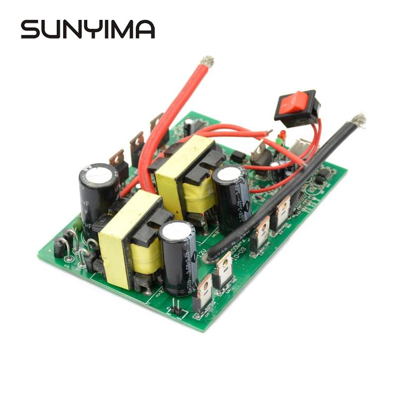 SUNYIMA 1 قطعة العاكس 12v إلى 220v 400W -800W DC-AC تحويل مجلس دفعة محول الطاقة