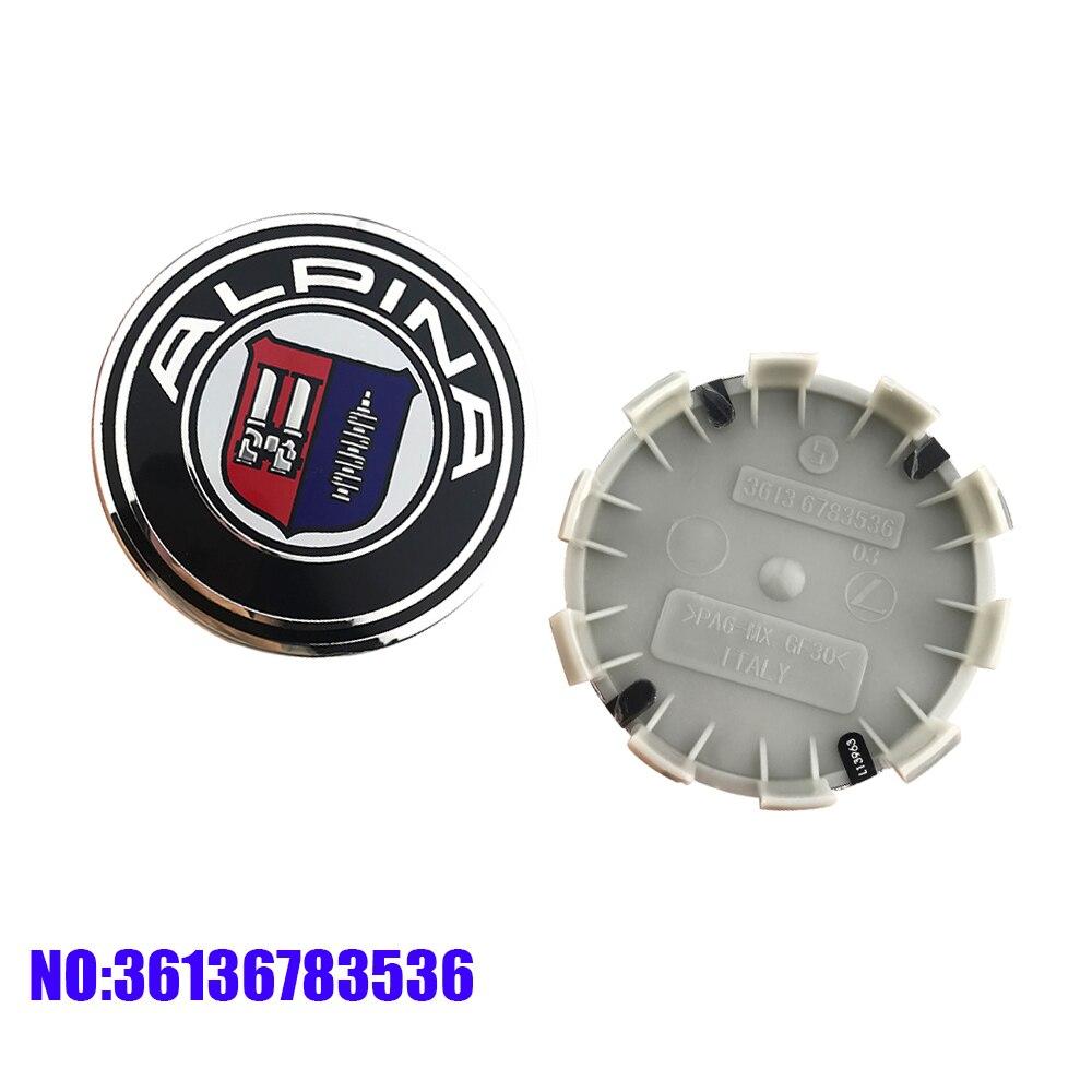 4 Uds 68mm coche tapas de cubo de rueda llanta para cubierta BMW E46 E39 E38 E90 E60 E36 F30 F30 E34 F10 F20 E92 E38 E91 E87 E53 X5 X3 X1