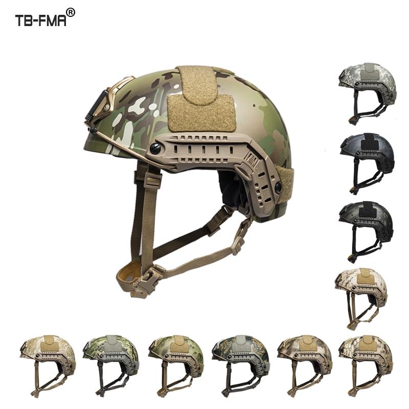 TBFMA TB1322 Ballistischen Helm Tactical Fast Helm Dick und Schwer Ver Reiten Schutz Helm M/L L/XL