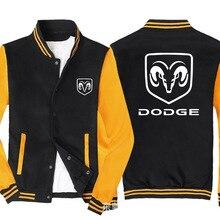 2020 NEW Sweatshirt for Dodge Men Slim Fit Jacket Men Hip Hop Harajuku Unisex Baseball Jacket unifor