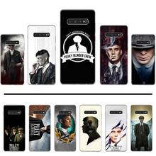 Oeillères de luxe Thomas Shelby couverture de téléphone de conception Unique pour Samsung Galaxy S5 S6 S7 S8 S9 S10 S10e S20 edge plus lite