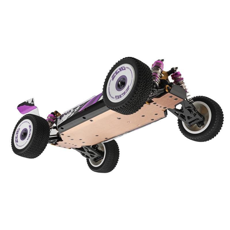 Wltoys 124019 High Speed RC Car 1:12 55Km/h High Speed 2.4G Metal Chassis Shock Absober Electric Children Toys New Years Gifts enlarge