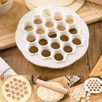 19 holes dumpling mold fast diy dumplings maker ravioli pelmen cutter dough press pastry pie pelmeni creative kitchen pp gadget