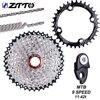 Cassette de 9 velocidades ZTTO MTB 11-42T 9 s 27s rueda libre bicicleta de montaña partes de bicicleta Cassette de 9V Gran proporción Compatible para M430 M4000