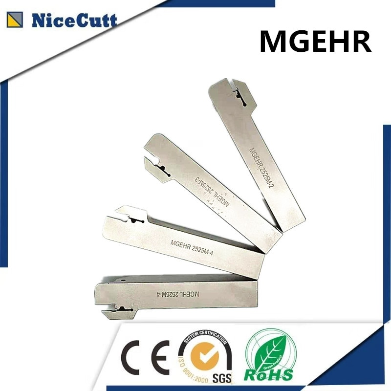 MGEHR, soportes de ranurado blanco, máquina CNC de corte de ranura para insertos MGMN200, envío gratis, NICECUTT