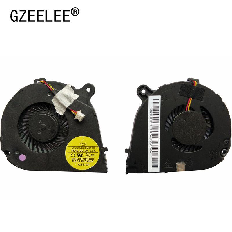 GZEELE neue Laptop cpu lüfter für Acer Aspire V5-171 Eine 756 V5-131 AC710 Notebook Computer Prozessor EF50050S1-C060-G9A fan
