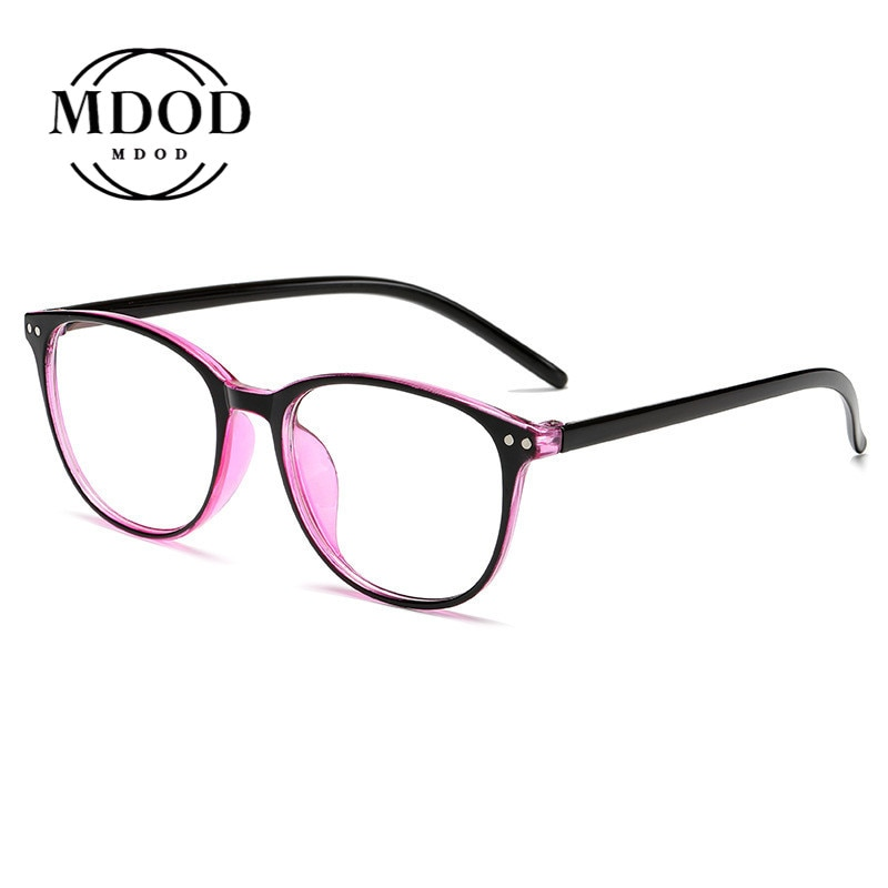 -0.5 -1 -1.5 -2 -2.5 -3 -3.5 -4 -4.5 -5 -6 Women Round Glasses Frame With Degree 2020 Men Ultralight Finished Myopia Glasses