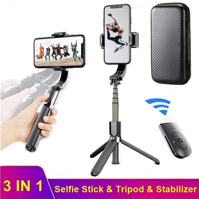 aliexpress.com - Tongdaytech Bluetooth 5.0 Selfie Stick Tripod Anti-Shake Handheld Gimbal Stabilizer For Iphone Samsung Xiaomi Smartphone Tripode