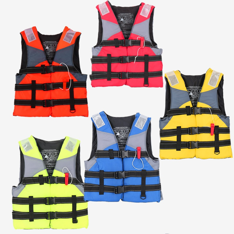 Outdoor rafting life jacket for children  life vest swimming snorkeling wear fishing suit Professional drifting level suit
