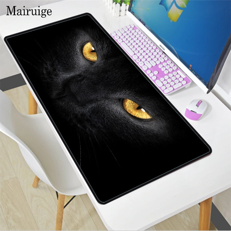 Office, home and gaming computer notebook mouse pads, cute animal cats, mouse pads, personalized non-slip table mats, mouse pads