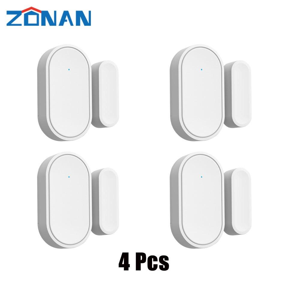 AliExpress - Mini 433MHz Wireless Window Door Sensor Remote Apps Control,Wifi Door Lock Home Burglar Security Alarm System for Android Ios