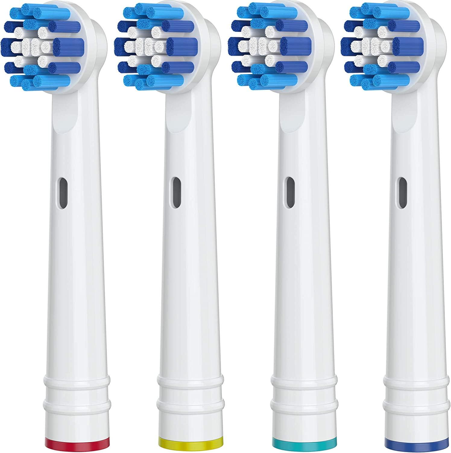 4pcs/Lot Replacement Toothbrush Heads For Oral B Whitening Braun Electric Head