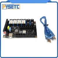 S6 V1.2 Board 32 Bit Control Board VS F6 V1.3 SKR V1.3 WIth 4pcs TMC S2225 TMC2225 Driver For Uart Flying Wire MX Connector