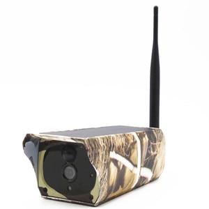 Wireless Solar Power IP Camera IP65 Waterproof  Outdoor Wildlife Trail Camera IR Night Vision