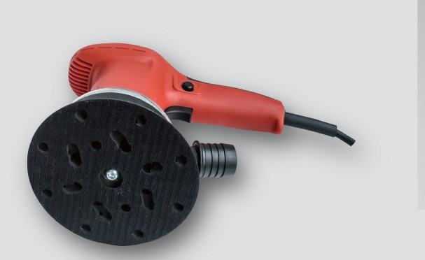 NEW 6 inch Professional 6 Speed Control Brushless Electric Sander / Polishing/rust removal With Vacuum enlarge