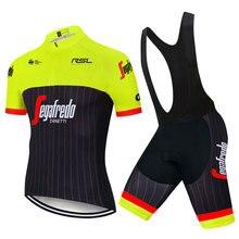 2020 여름 새로운 사이클링 저지 짧은 소매 세트 Maillot Ropa Ciclismo 빠른 건조 자전거 의류 MTB 사이클 의류