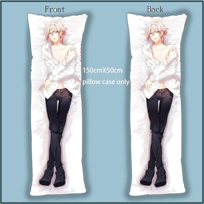dakimakura body pillow case cover anime idolish 7 tenn kujo decorative pillowcases home decoration bedding accessories