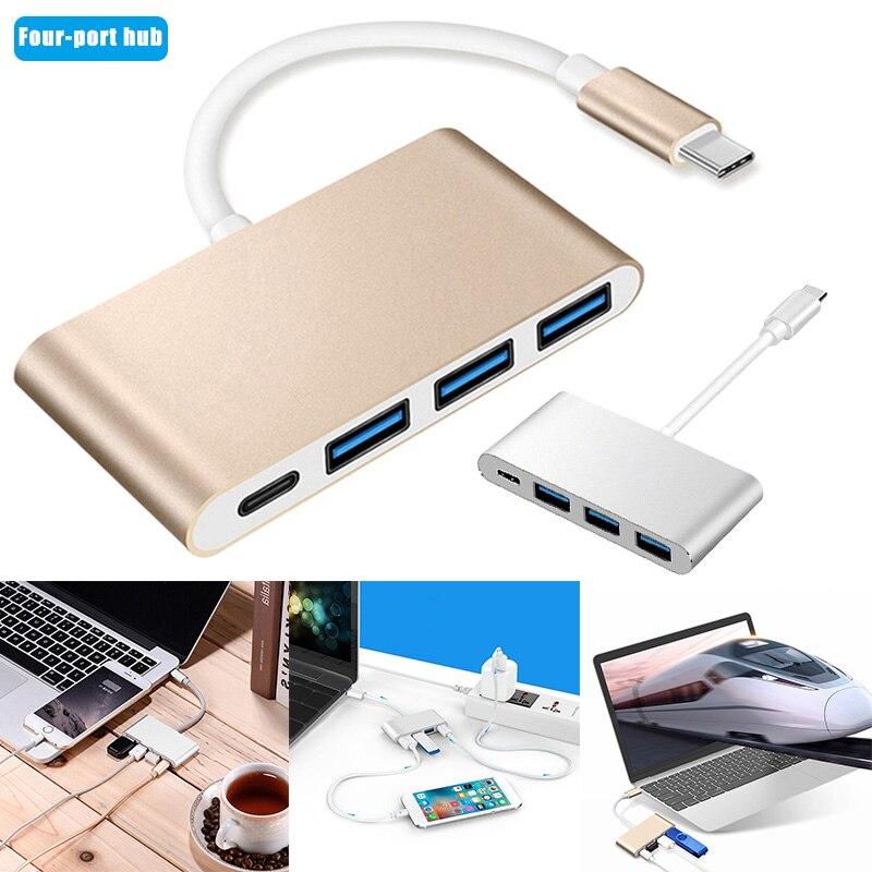 Type C USB 3 0 концентратор зарядный адаптер портативный для мобильного телефона