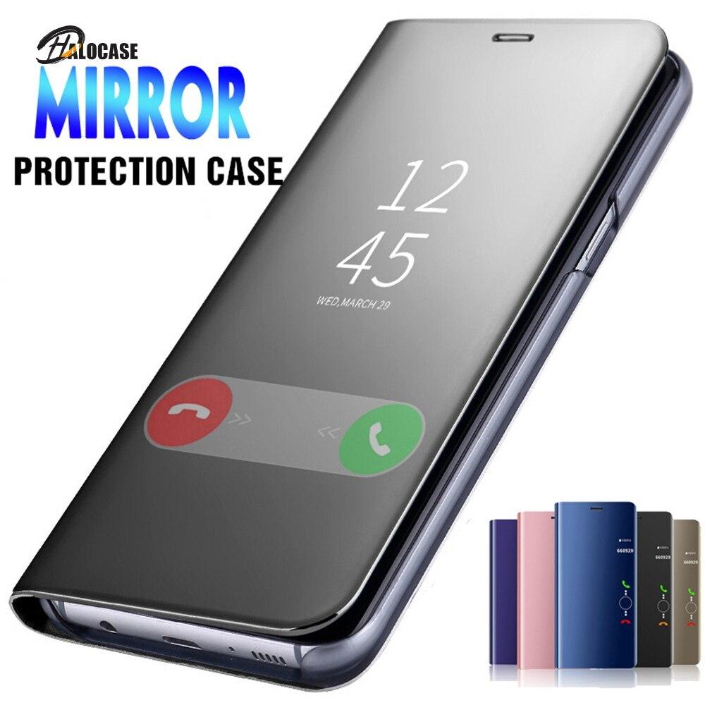 Fundas con tapa tipo espejo para Samsung Galaxy S20 FE A50 A51...