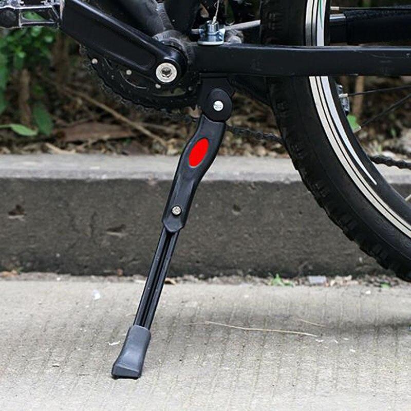 Béquille réglable de bicyclette de route et vtt en aluminium, 34CM, Support réglable pour le stationnement, en alliage
