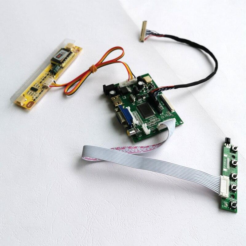 كابل شاشة LCD للكمبيوتر المحمول, لـ LTN154X5/LTN154X9/LTN154XB 30pins LVDS كابل 1280*800 2AV VGA 15.4