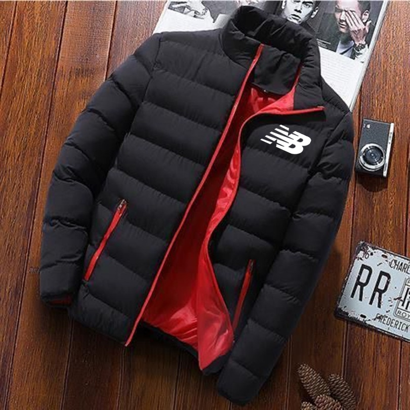 Мужская куртка новая зимняя куртка плотная куртка Паркера Толстая куртка на молнии осенняя куртка сохраняет тепло
