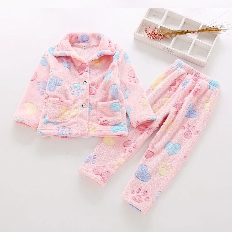 Новинка 2020 года, зимняя пижама с принтом для мальчиков детский осенний костюм для маленьких девочек брюки с длинными рукавами комплект из 2 предметов, детская одежда на возраст от 2 до 12 лет|Комплекты пижам| | АлиЭкспресс