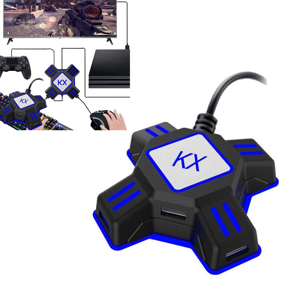 KX USB Gamepad Controller Converter Video Game Keyboard Mouse Adapter For PS4 PS3 Xbox One Nintendo