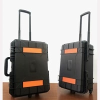 high quality trolley safety box hardware tools case multi function protective case equipment shipping tool box
