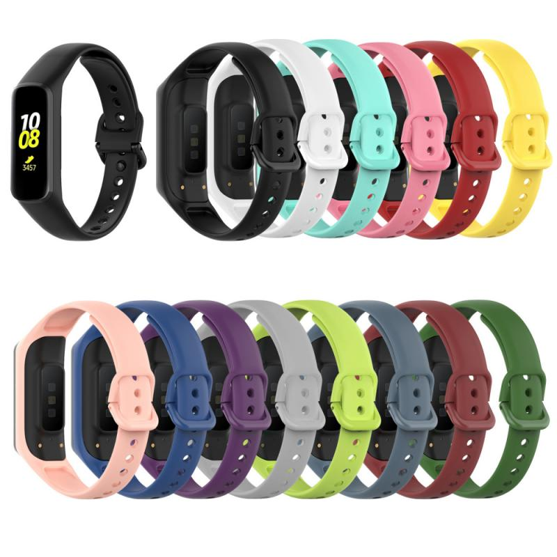 Smart Accessories Silicone Strap For Samsung Galaxy Fit 2 SM-R220 Wristband Replacement Bracelet Wearable Devices