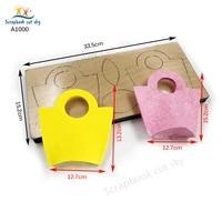 two packages die cutting wooden mold scrapbook