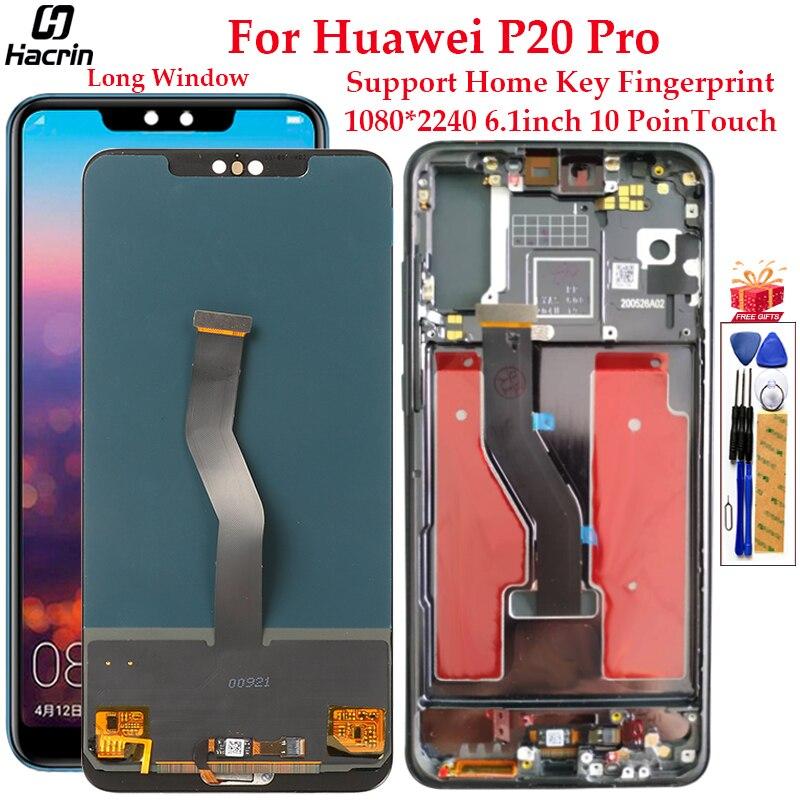 display para huawei p20 pro display lcd tela de toque com montagem do quadro substituicao