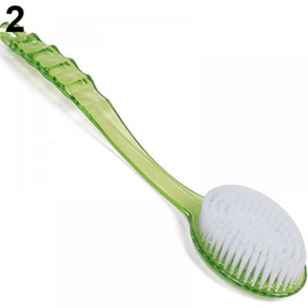 Long Handleds Body Bath Shower Back Brush Scrubber Massager Skin Cleaning Tool