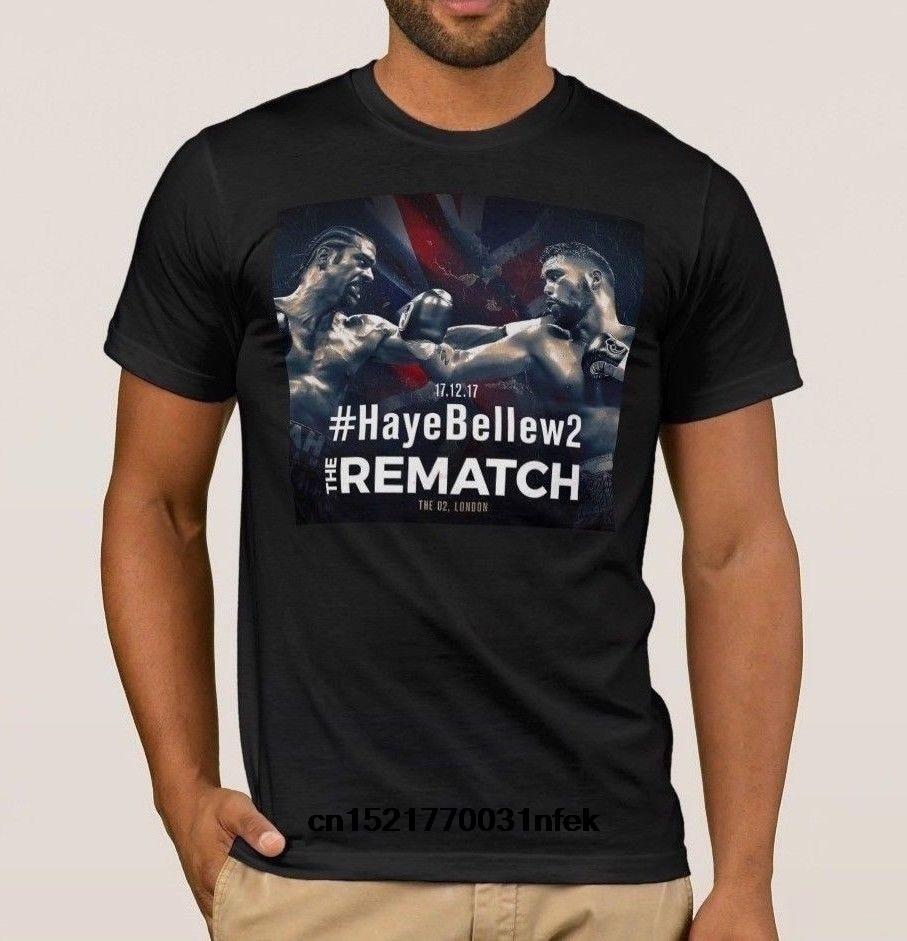 Men T shirt Haye Vs Bellew Tony Bellew David Haye The Rematch Boxing T Shirt funny t-shirt novelty tshirt women