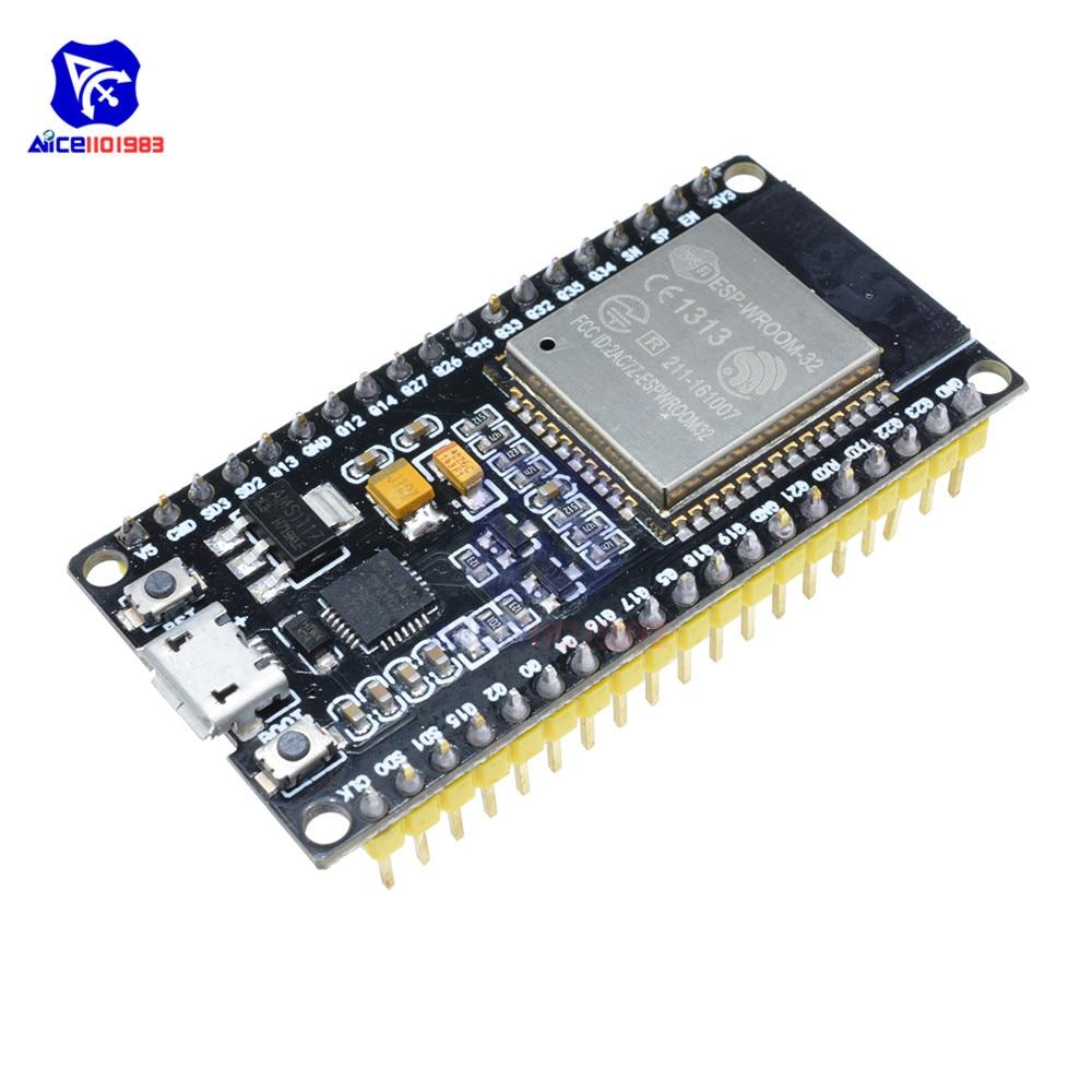 ESP32 ESP-32 Entwicklung Bord Drahtlose WiFi Bluetooth Dual Core CP2102 Antenne RF Power Low Noise Amplifier Filter Modul